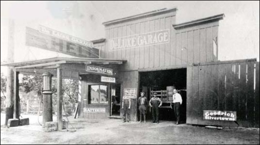 L.P. Coddington Garage & Gas Station